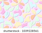 seamles pattern of the embossed ... | Shutterstock .eps vector #1039228561