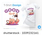 stylish duck. print on t shirts ... | Shutterstock .eps vector #1039232161