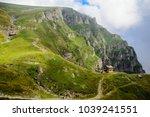 caraiman cabin in bucegi...   Shutterstock . vector #1039241551
