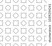 geometric ornamental vector... | Shutterstock .eps vector #1039254241