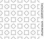geometric ornamental vector... | Shutterstock .eps vector #1039254241