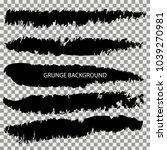 set of grunge banners.grunge...   Shutterstock .eps vector #1039270981