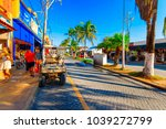 isla mujeres. mexico  november...   Shutterstock . vector #1039272799