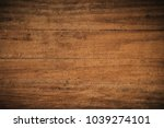 old grunge dark textured wooden ... | Shutterstock . vector #1039274101