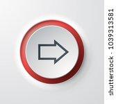 forward arrow web icon push... | Shutterstock .eps vector #1039313581