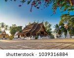 wat xieng thong  golden city... | Shutterstock . vector #1039316884