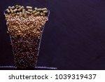 lager beer brewing ingredients... | Shutterstock . vector #1039319437