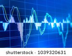 stock market data on led... | Shutterstock . vector #1039320631