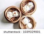 chinese steamed bun | Shutterstock . vector #1039329001