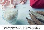 kapok  or ceiba pentandra  is a ... | Shutterstock . vector #1039333339