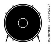 isolated drum icon. musical... | Shutterstock .eps vector #1039342327