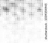 grunge halftone black and white ... | Shutterstock .eps vector #1039354945