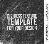distress vector texture template | Shutterstock .eps vector #1039356541