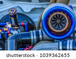 close up of turbo charger... | Shutterstock . vector #1039362655