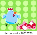 easter background | Shutterstock .eps vector #10393753