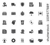 business communication vector... | Shutterstock .eps vector #1039377889