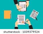 recruitment of human resources  ... | Shutterstock .eps vector #1039379524