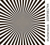 optical illusion  black and... | Shutterstock .eps vector #1039381744