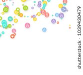 social media marketing ... | Shutterstock .eps vector #1039430479