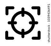 target aim scope  | Shutterstock .eps vector #1039436491