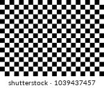 chessboard vector background | Shutterstock .eps vector #1039437457