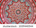 geometric decoration of islamic ...   Shutterstock . vector #1039440544