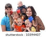 big family. | Shutterstock . vector #10394407