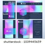 modern vector template for... | Shutterstock .eps vector #1039445659