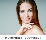 beautiful young girl | Shutterstock . vector #103945877