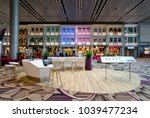 changi airport  singapore  ... | Shutterstock . vector #1039477234