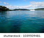 scene of port vila harbour ... | Shutterstock . vector #1039509481