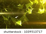 abstract background with... | Shutterstock . vector #1039513717