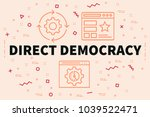 conceptual business... | Shutterstock . vector #1039522471