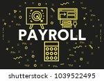 conceptual business... | Shutterstock . vector #1039522495