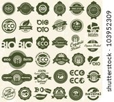 eco icons. ecology signs set. | Shutterstock .eps vector #103952309