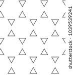 geometric ornamental vector...   Shutterstock .eps vector #1039539241
