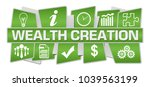 wealth creation concept image... | Shutterstock . vector #1039563199