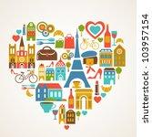 Paris Love   Vector...