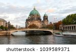 berliner dom  berlin cathedral  ... | Shutterstock . vector #1039589371