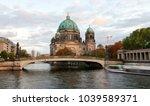 berliner dom  berlin cathedral  ... | Shutterstock . vector #1039589371