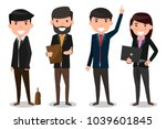 group of business people team.... | Shutterstock .eps vector #1039601845