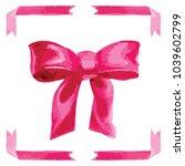 vector watercolor style...   Shutterstock .eps vector #1039602799