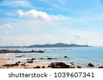 wind turbine production of...   Shutterstock . vector #1039607341