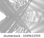 abstract architecture modern... | Shutterstock . vector #1039612555