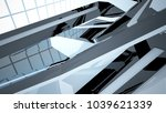 abstract white and black... | Shutterstock . vector #1039621339