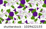 floral elegant background... | Shutterstock .eps vector #1039622155