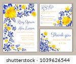 vector set of invitation cards...   Shutterstock .eps vector #1039626544