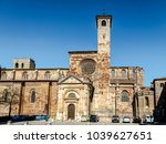 st mary cathedral of siguenza... | Shutterstock . vector #1039627651