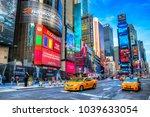 new york city  usa   december... | Shutterstock . vector #1039633054