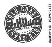 gold coast australia round...   Shutterstock .eps vector #1039641655